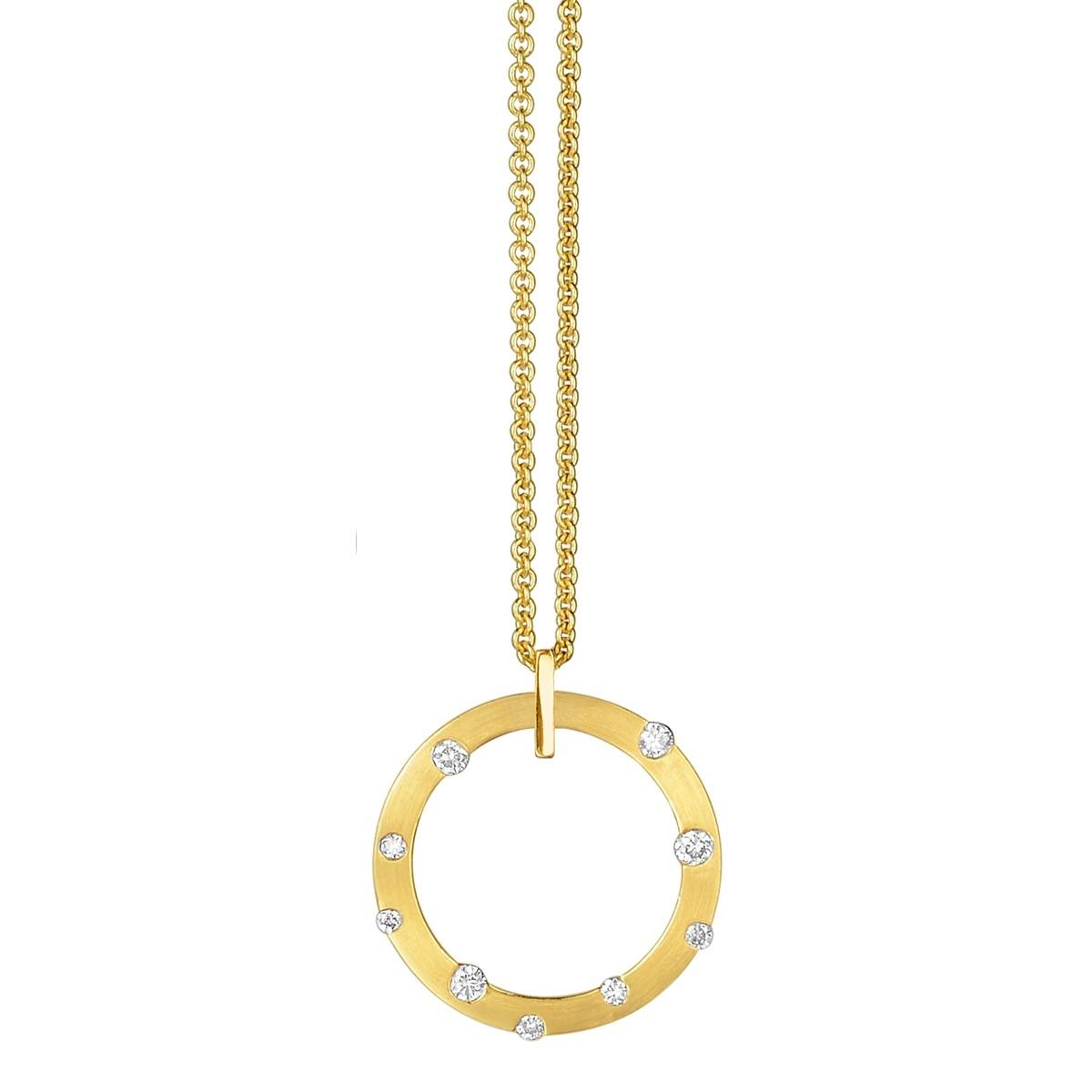 Cloud Nine Yellow Gold Small Diamond Necklace