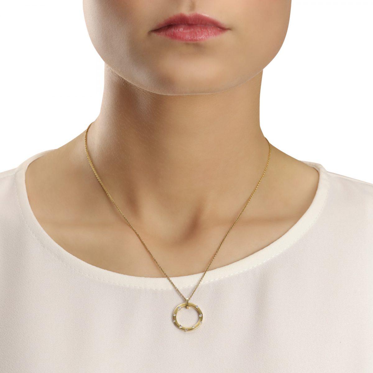 Cloud Nine White Gold Small Diamond Necklace