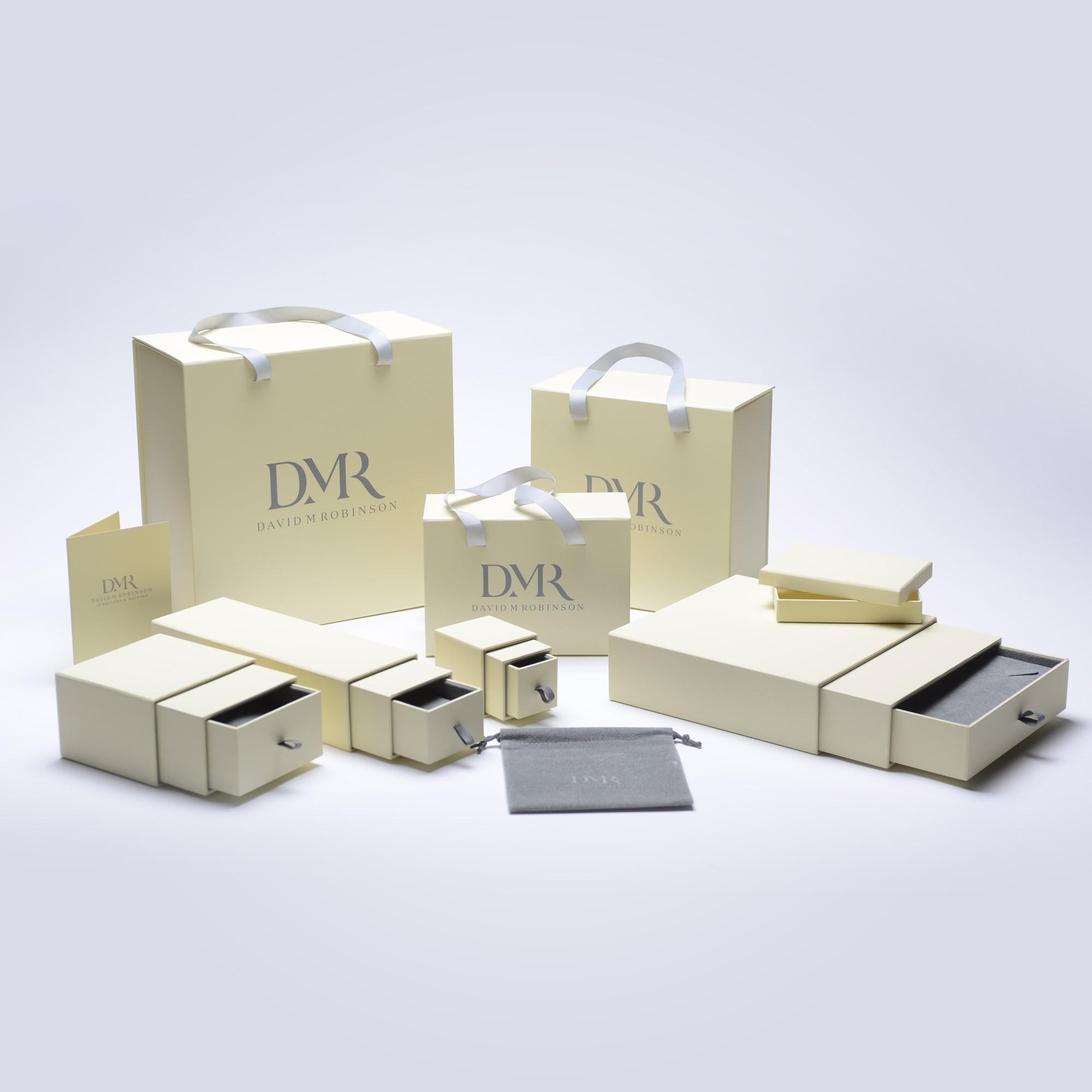 Hopscotch White Gold Diamond Earrings