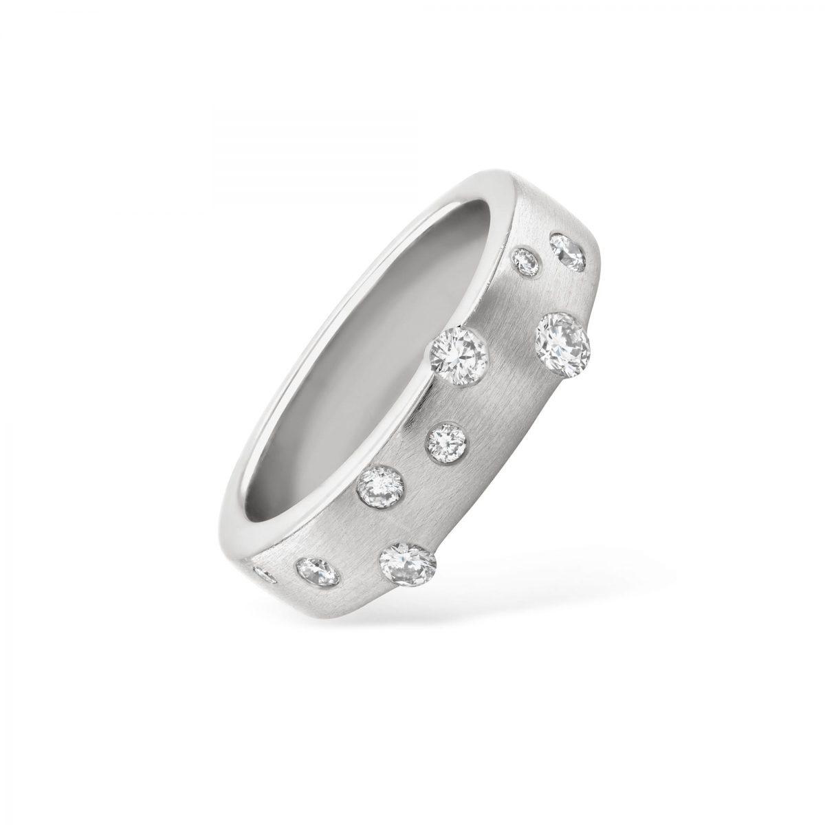 Cloud Nine White Gold Diamond Ring