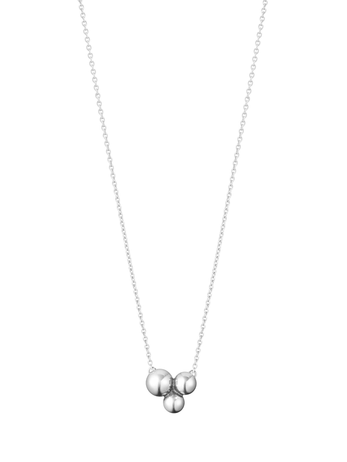 Moonlight Grapes Sterling Silver Trio Necklace