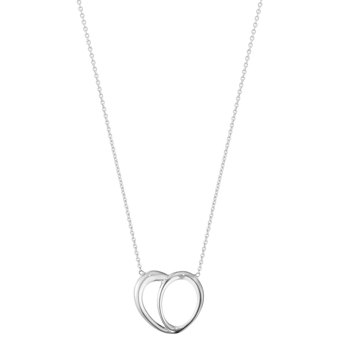 Georg Jensen Offspring Heart Necklace