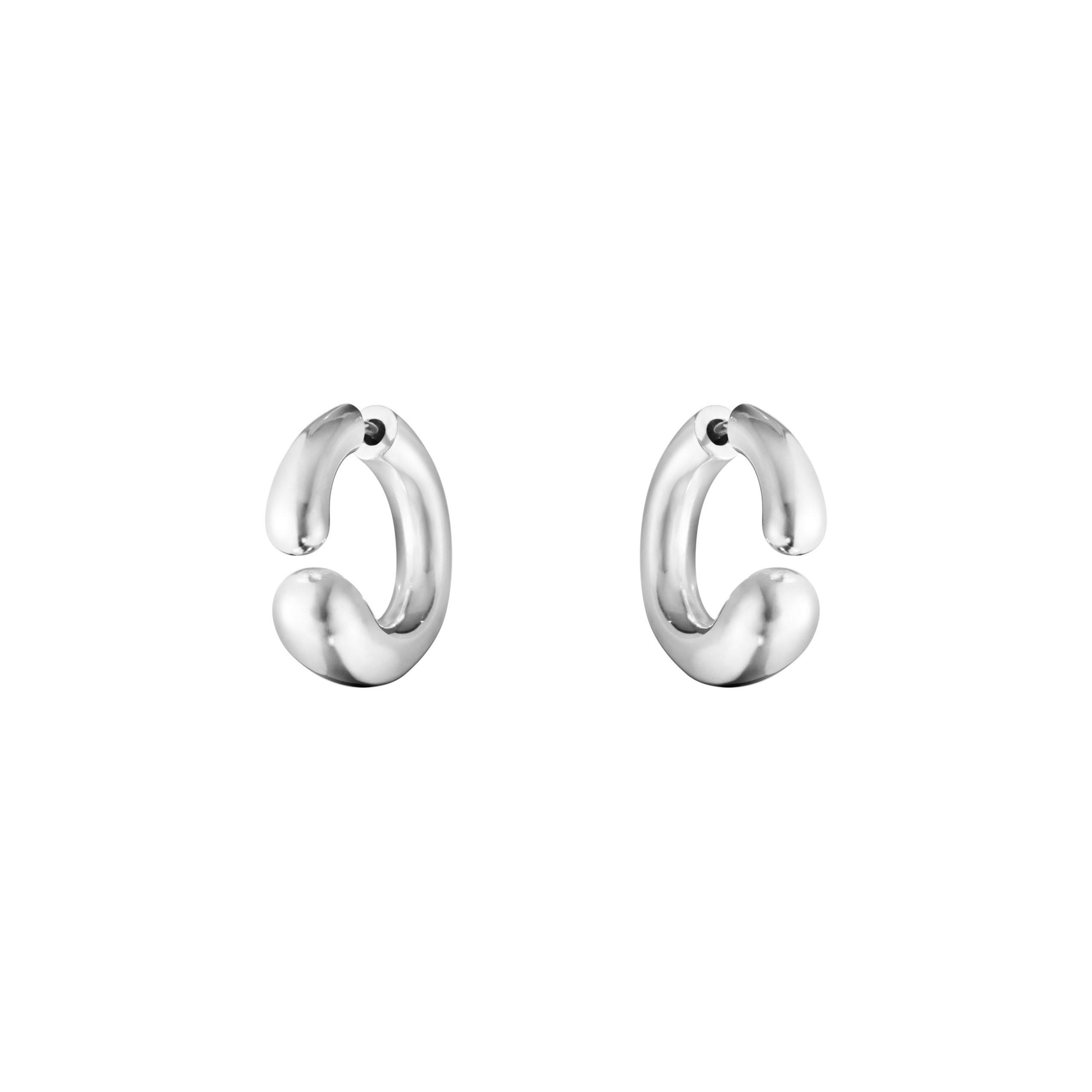 Georg Jensen Mercy Open Ear Hoop Earrings