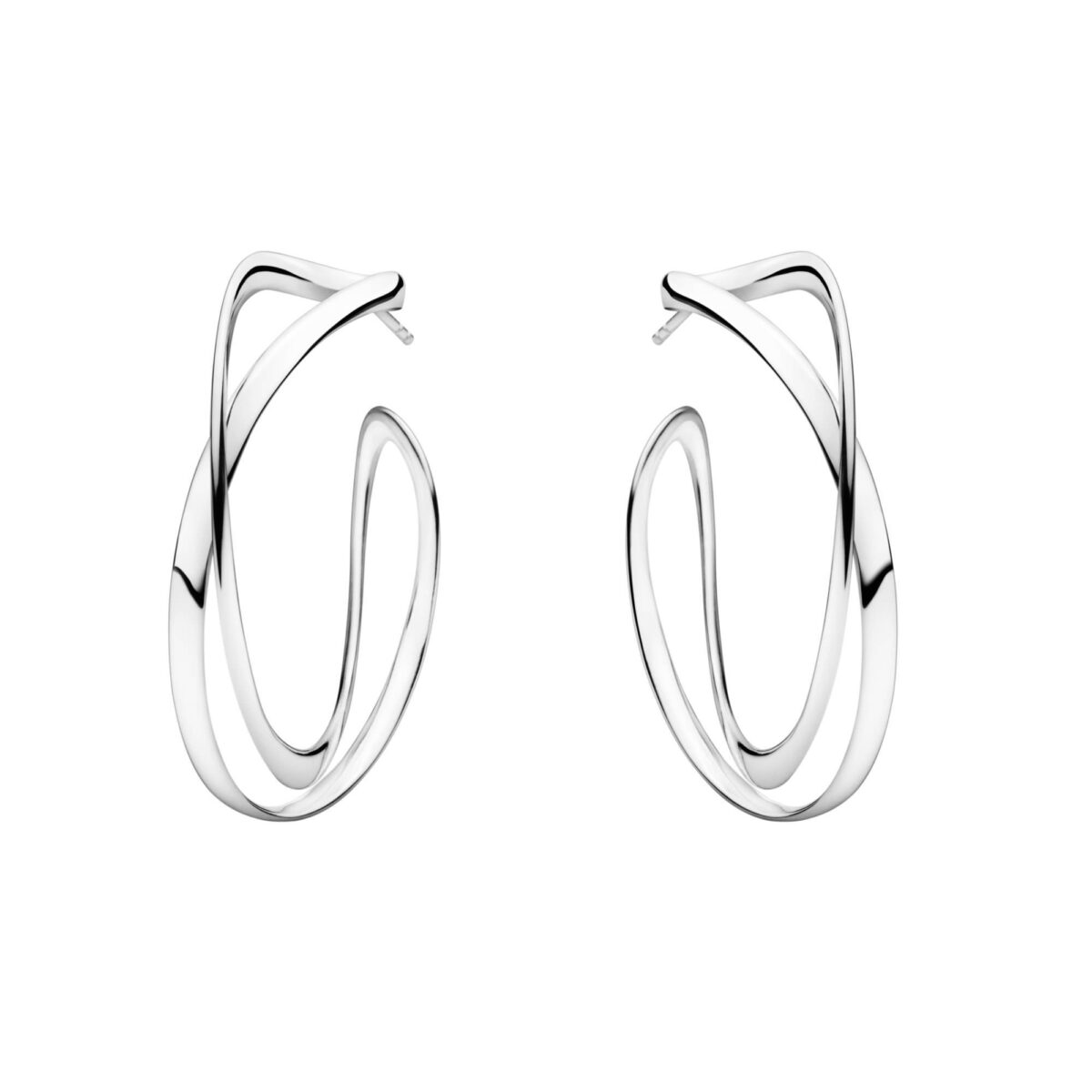 Georg Jensen Infinity Hoops - Large