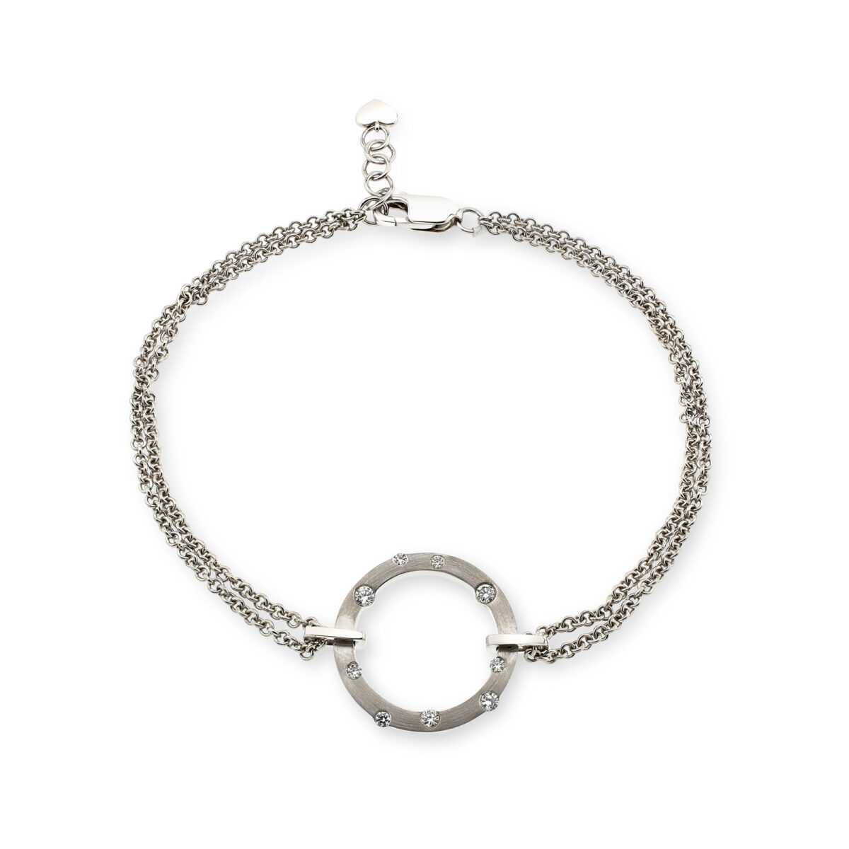 Cloud Nine Silver Diamond Bracelet