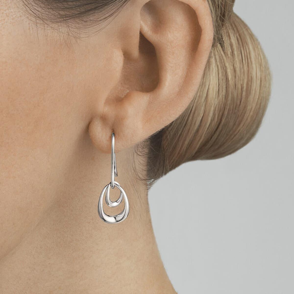 Sterling Silver Offspring Earrings