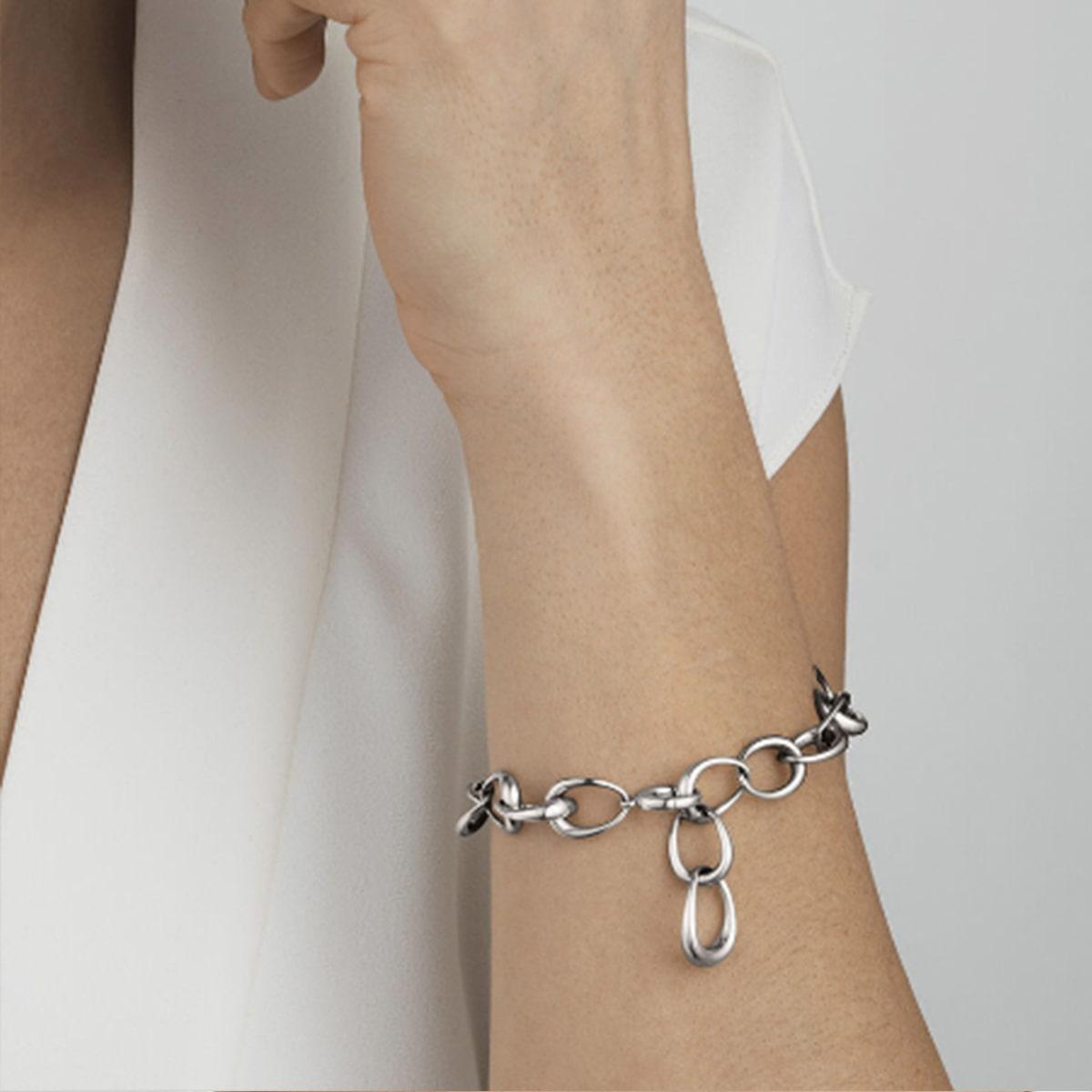 Offspring Sterling Silver Link Bracelet