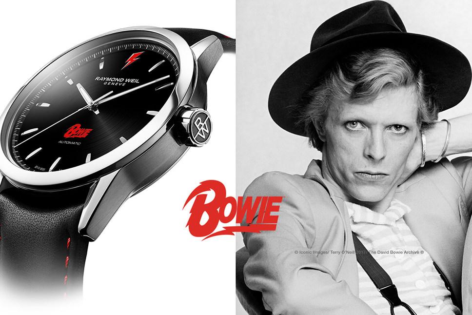 """Baselworld 2017: RAYMOND WEIL Limited Edition FREELANCER """"David Bowie"""""""