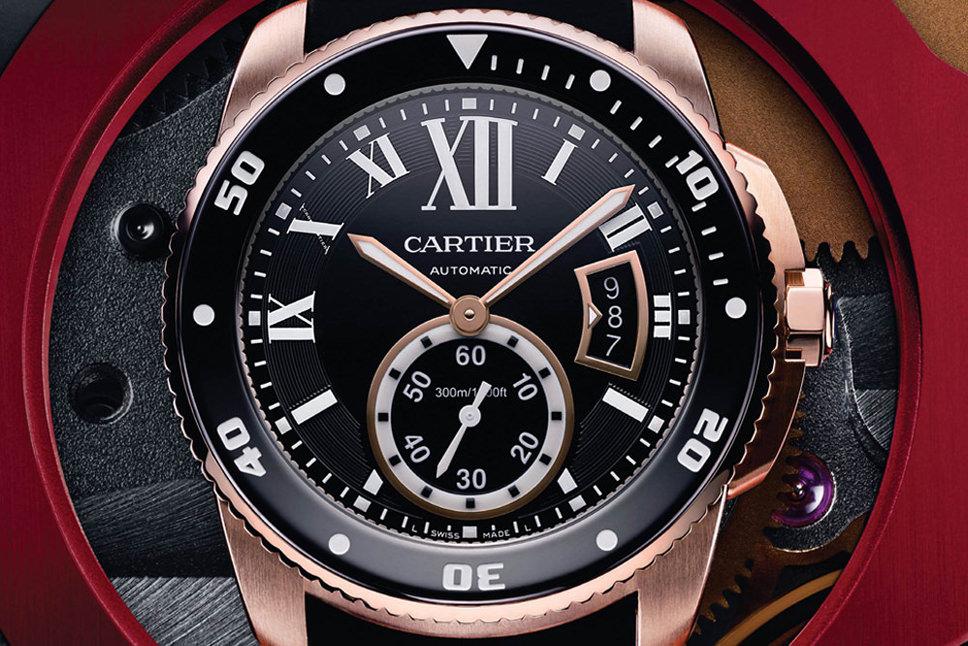 Cartier Watches: New Calibre de Cartier Diver