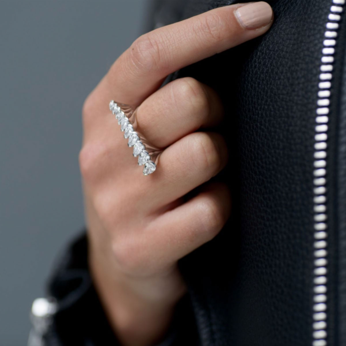 Eclipse Statement ring, lifestyle image
