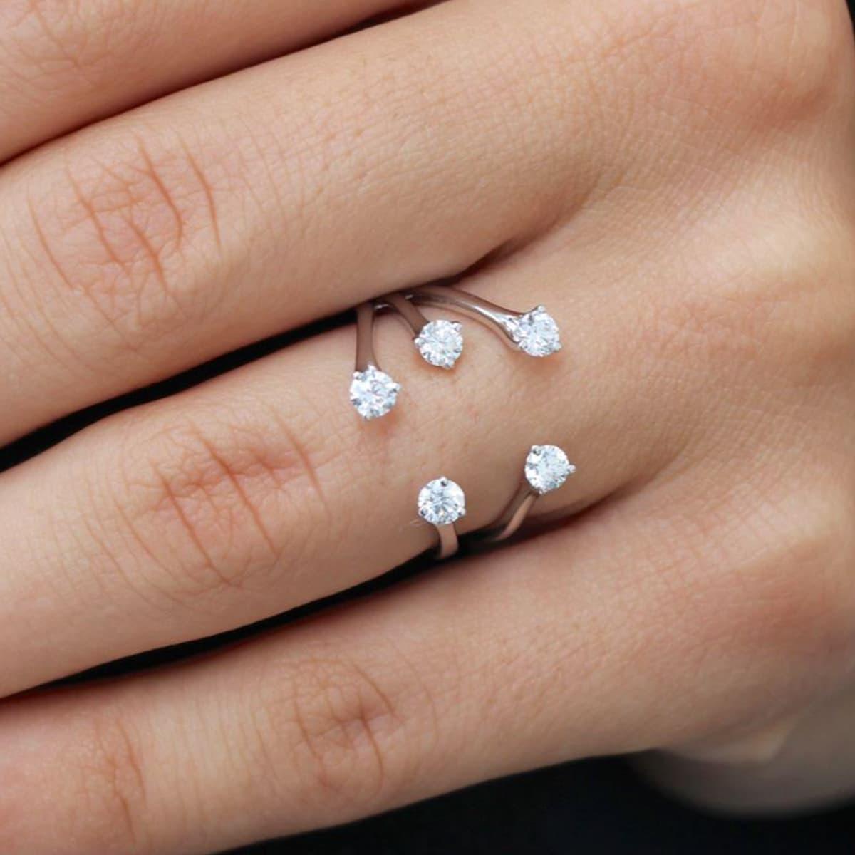 Embrace White Gold Diamond Ring