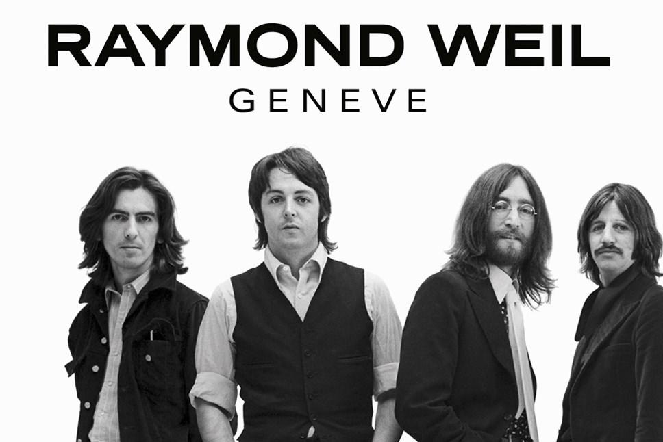 Raymond Weil Celebrates the Iconic Beatles