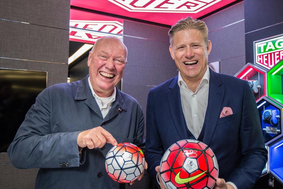 TAG Heuer Announce Premier League Partnership