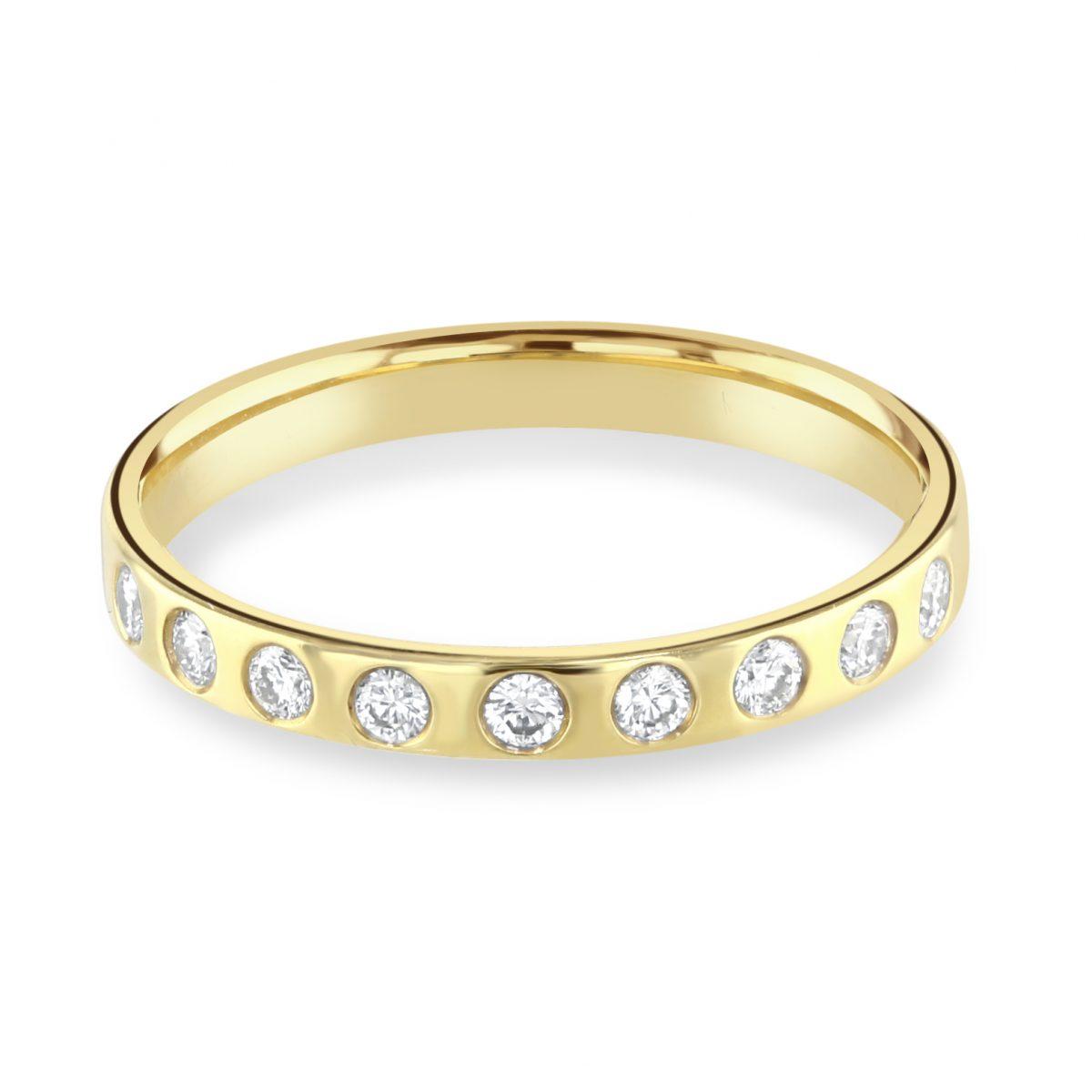 Yellow Gold Magic Ring