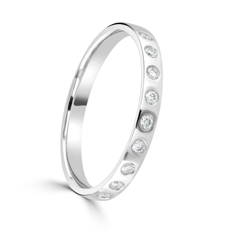 White Gold Magic Ring