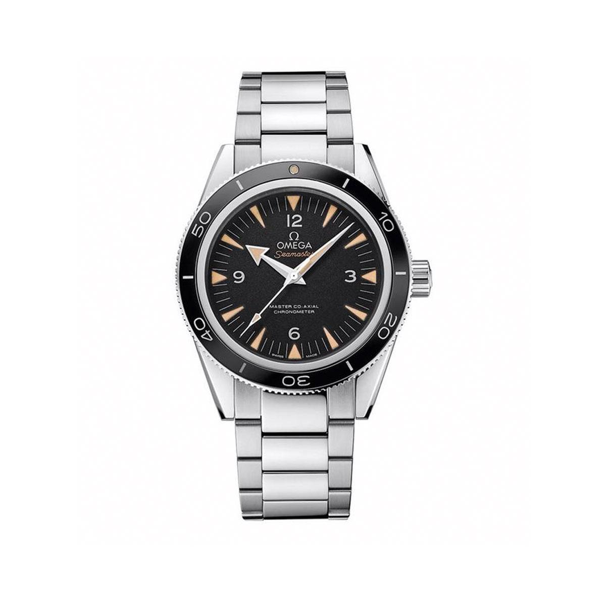Omega 233.30.41.21.01.001 Seamaster Black Dial