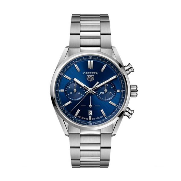 Tag Heuer Carrera Chronograph Blue dial
