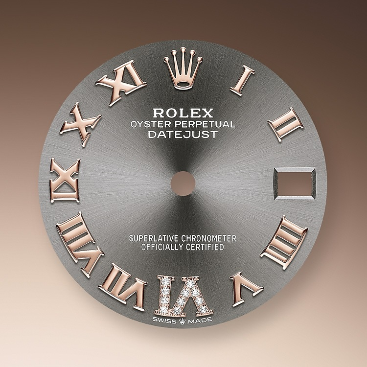 Dark Rhodium Dial