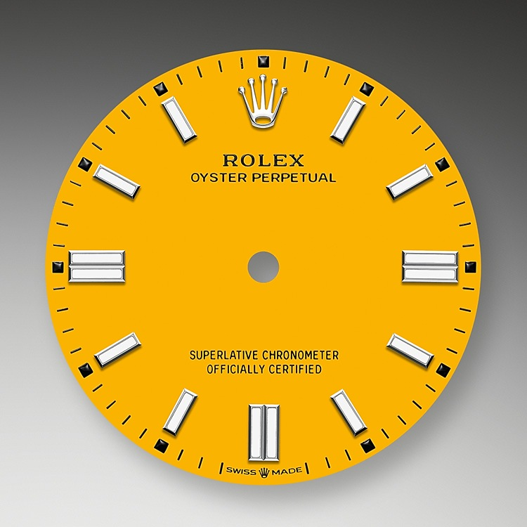 Yellow dial