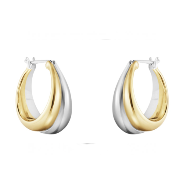 Georg Jensen Curve Earrings
