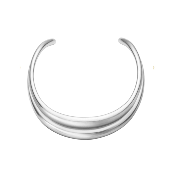 Curve Sterling Silver Neck Ring