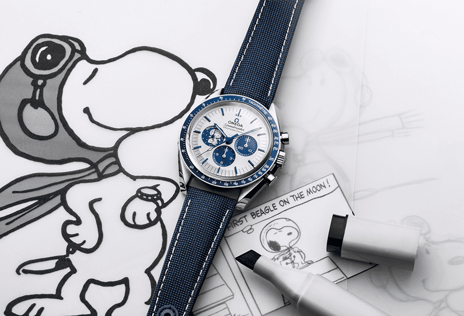 "OMEGA celebrates 50 years of the ""Silver Snoopy Award"""