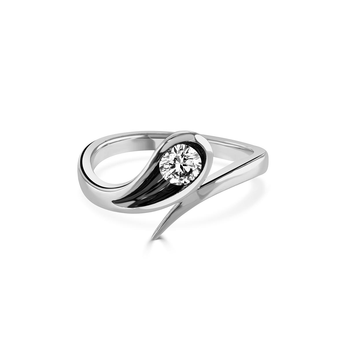Stella White Gold Diamond Ring