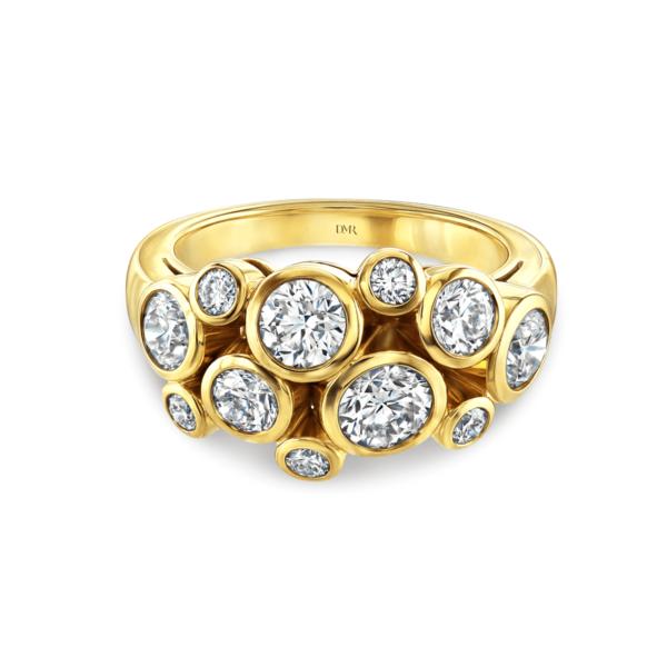 Allanah Yellow Gold Diamond Ring