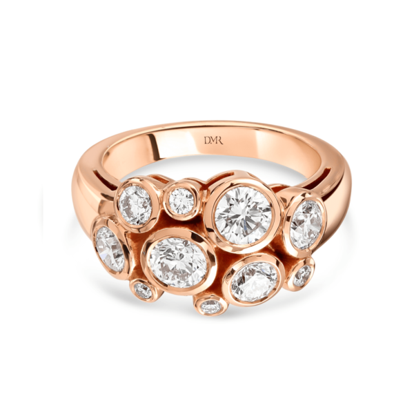 Allanah Rose Gold Diamond Ring