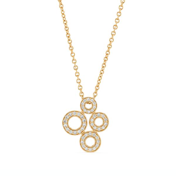 Loop Da Loop Rose Gold Diamond Pendant
