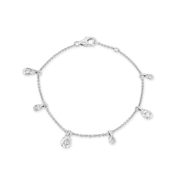 Spectacle Set White Gold Diamond Bracelet