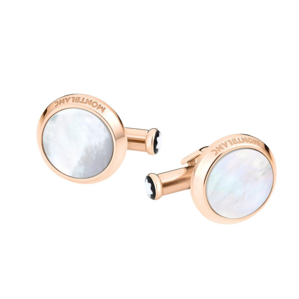 Montblanc Mother Of Pearl Cufflinks