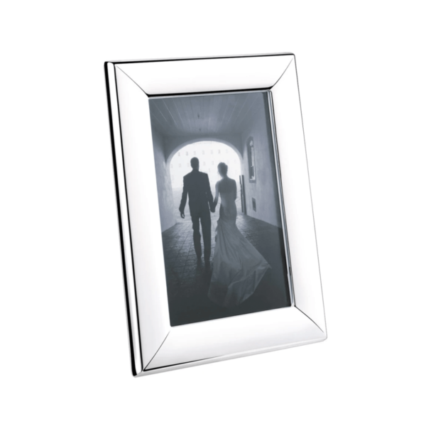 Georg Jensen Modern Stainless Steel Picture Frame Small