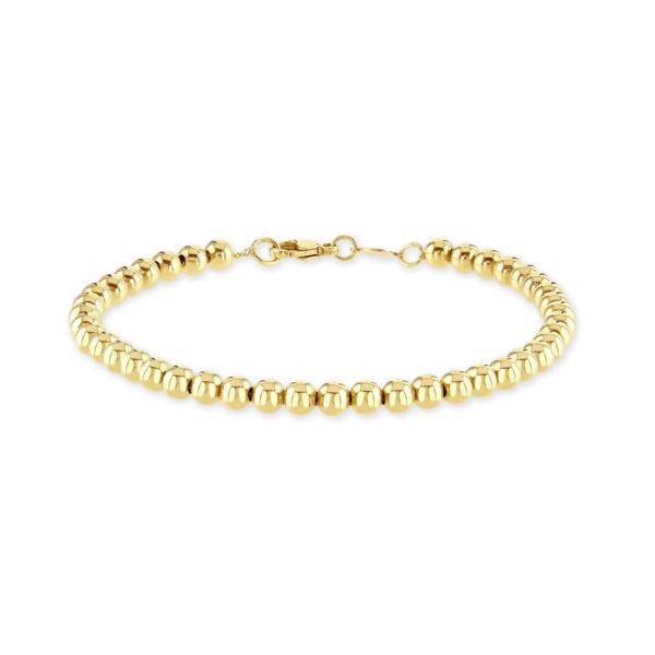 Giallo Sphere Yellow Gold Bracelet