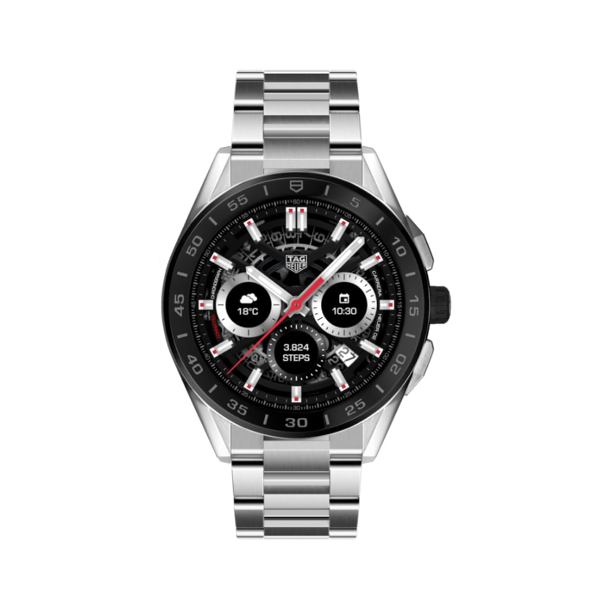 Tag Heuer Connected Modular Stainless Steel