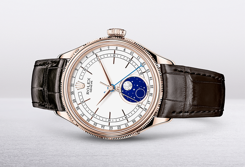 ROLEX: The Cellini Moonphase