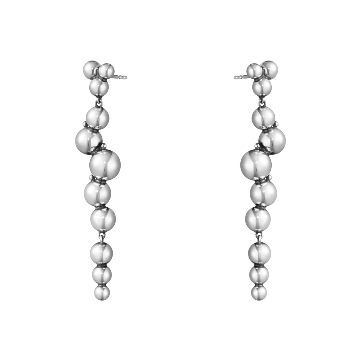 Moonlight Grapes Sterling Sliver Drop Earrings