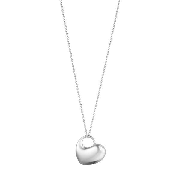 Hearts Of Georg Jensen Sterling Silver Pendant