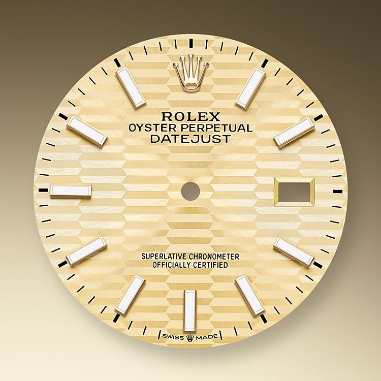 Golden dial