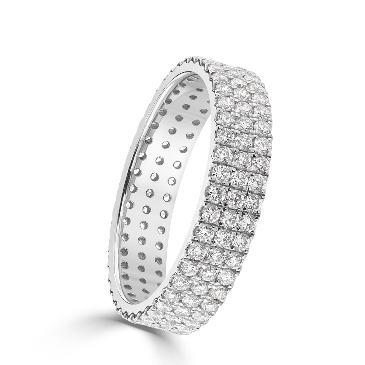 White Gold Diamond Eternity Ring