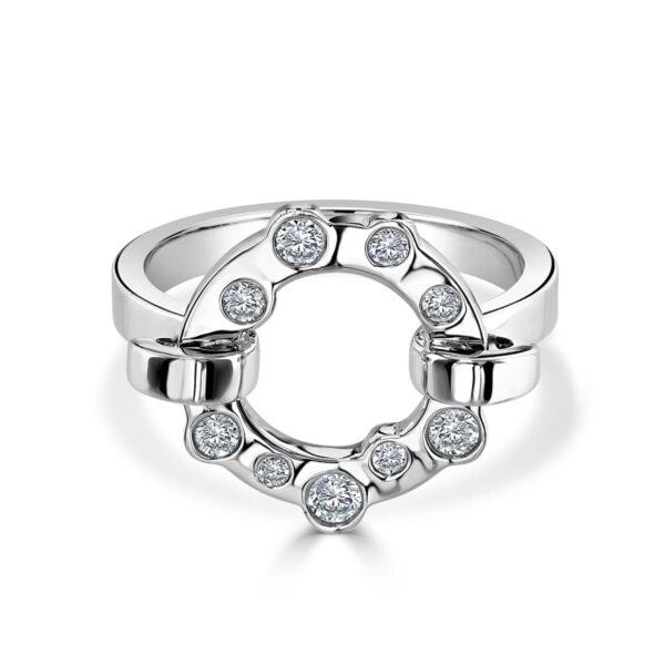 Cloud Nine Platinum Diamond Ring