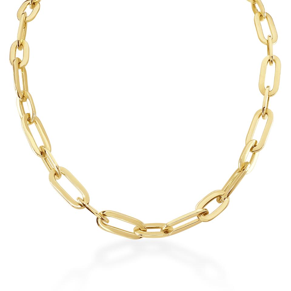 Giallo Yellow Gold Necklace