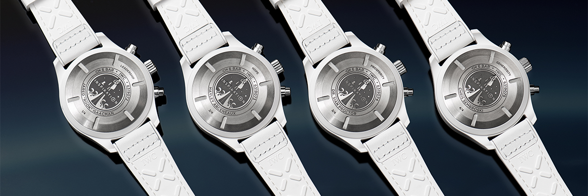 IWC Schaffhausen Supports The Inspiration4 Mission